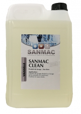 sanmac clean 6kg produits de nettoyage lave vaisselle verres professionnels sanmac clean 6kg. Black Bedroom Furniture Sets. Home Design Ideas