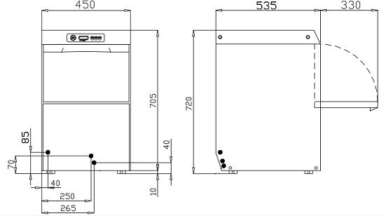 lave verres clean plus 40 lave verres lave vaisselle. Black Bedroom Furniture Sets. Home Design Ideas